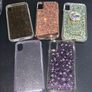Lot 5 iPhone X/XS Phone Cases - Casemate Sonix